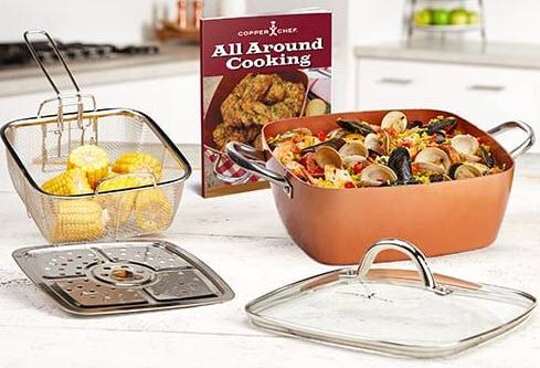 Copper Chef XL Casserole 5 pc Set