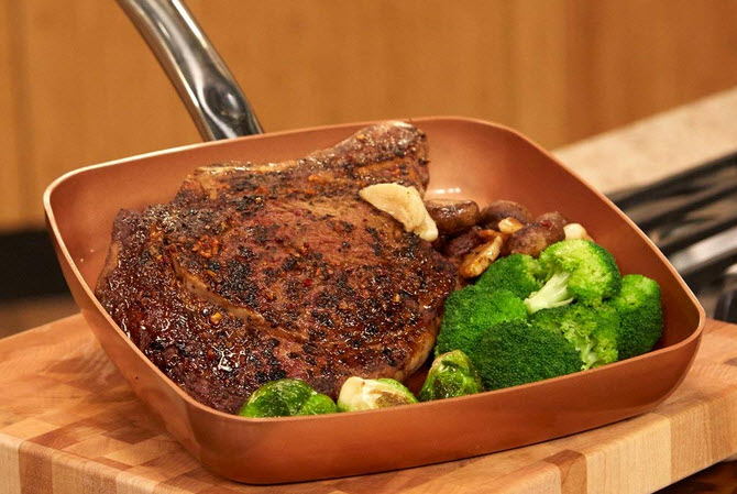 Copper chef fry pan (2 Pack) Review