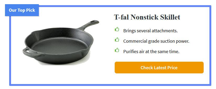 T-fal Nonstick Skillet