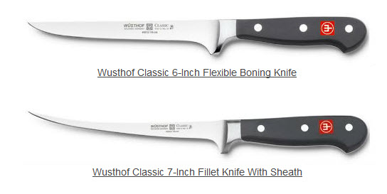 boning and fillet knives