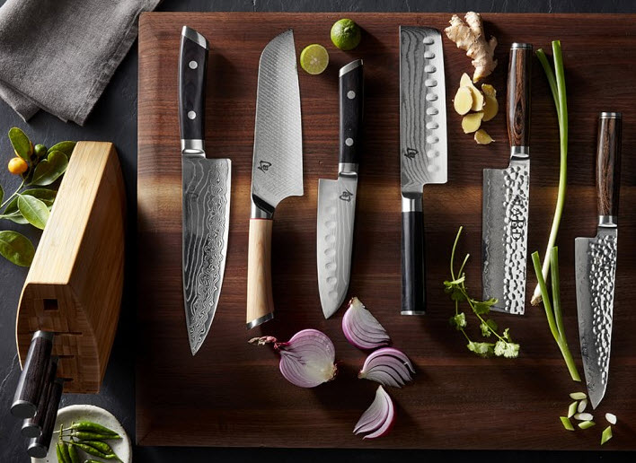 Shun Kaji Chef's Knives