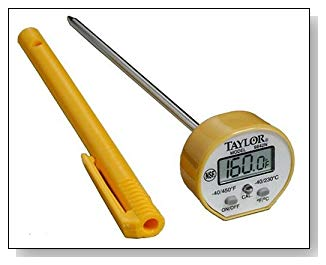 Taylor 9842 Instant Read Digital Thermometer