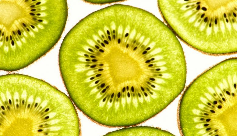 kiwi food slices